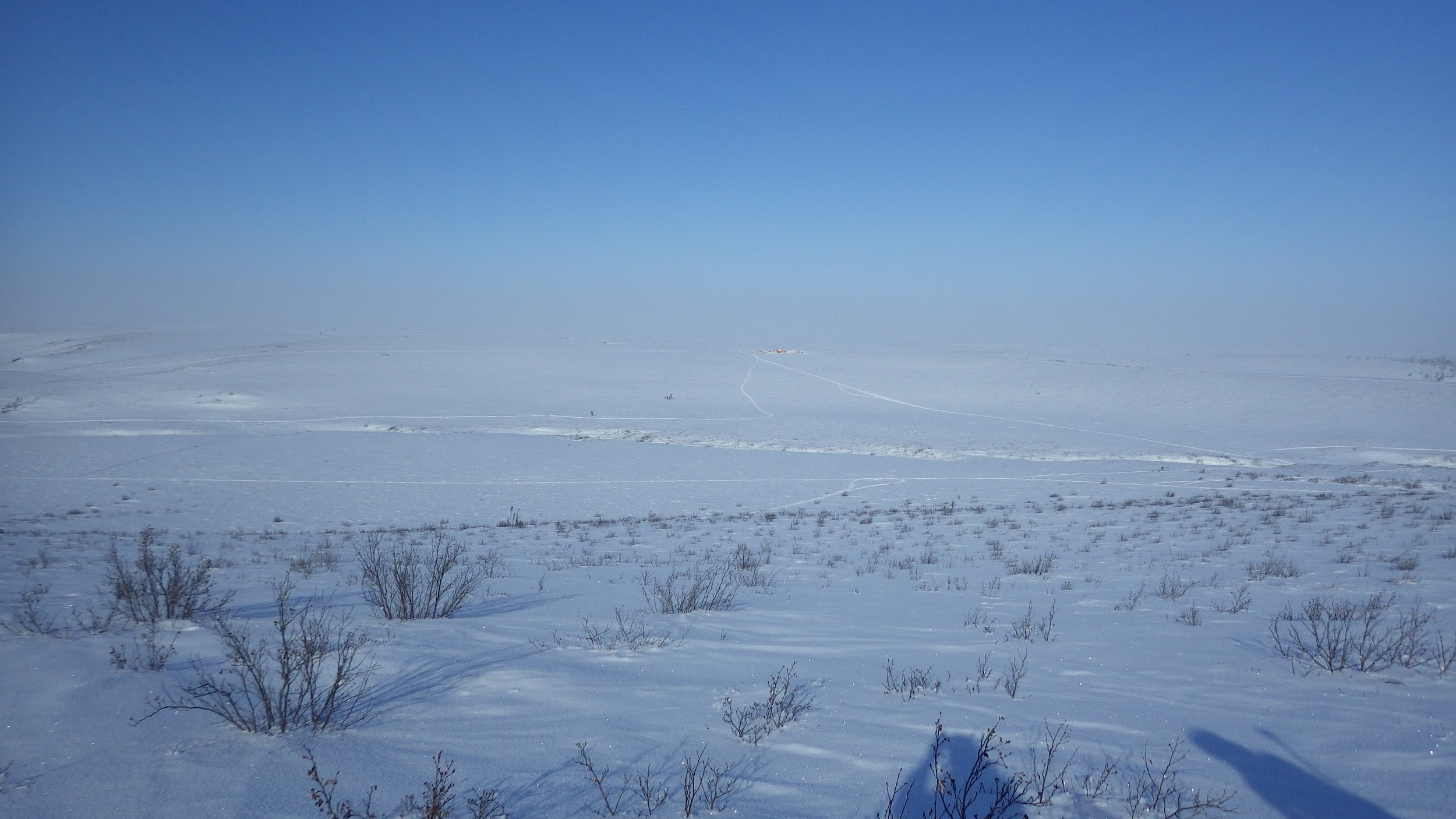 Removing the influence of Arctic snow from satellite microwave observations of the atmosphere